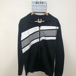 Men's Groggy Zip-up Sweater